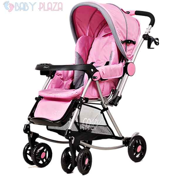 Xe COOZY Ariel 126 2 chiều màu hồng