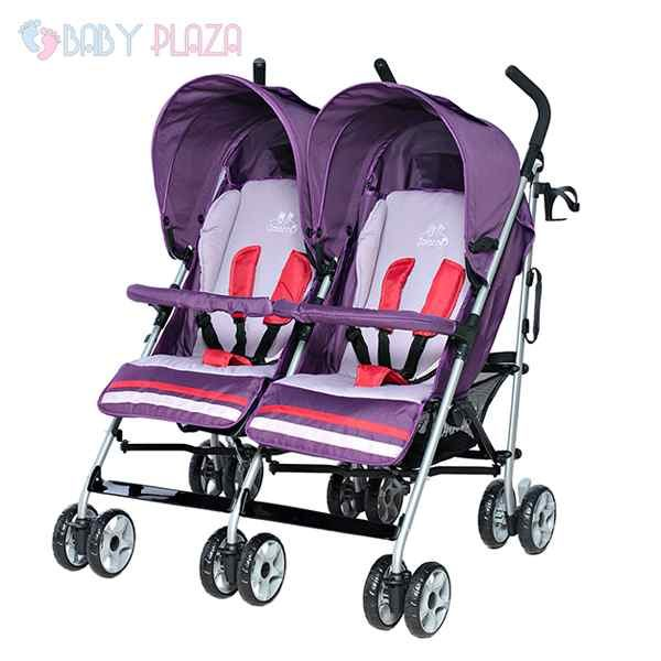 Xe đẩy đôi trẻ em Zaracos Mark 2596