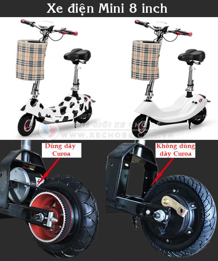 Xe điện mini E-scooter gấp gọn 1