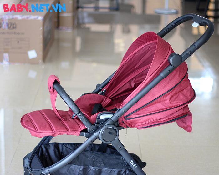 Xe đẩy trẻ em 2 chiều Topbi S1000 của Đức 20
