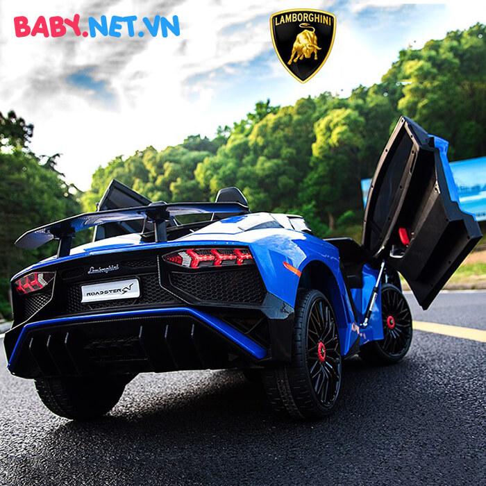 Siêu xe ô tô điện cho bé BDM-0913 12