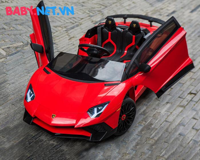 Siêu xe ô tô điện cho bé BDM-0913 14