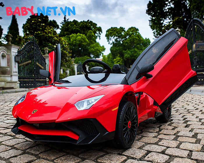 Siêu xe ô tô điện cho bé BDM-0913 15