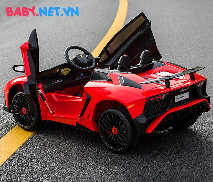 Siêu xe ô tô điện cho bé BDM-0913 16