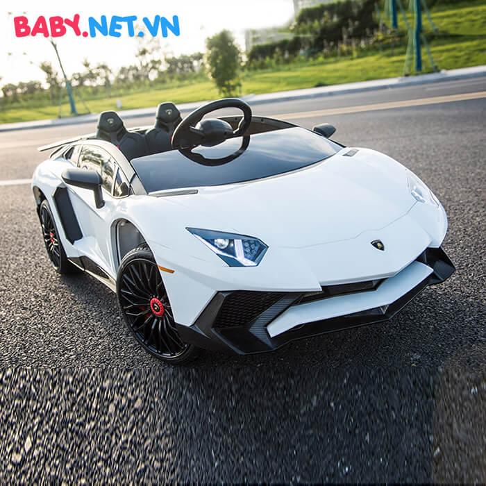 Siêu xe ô tô điện cho bé BDM-0913 5