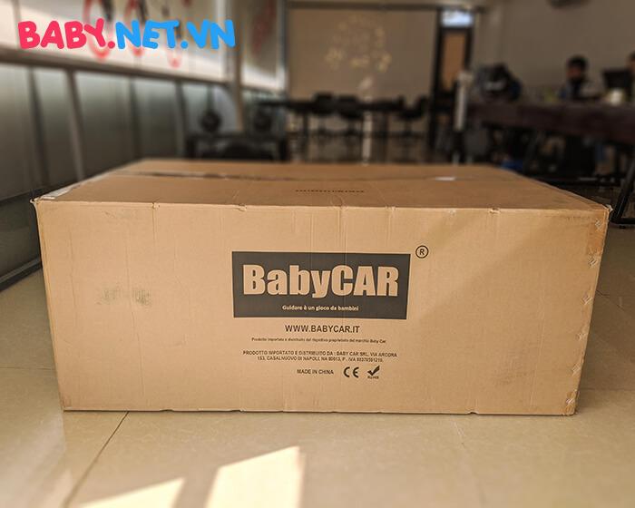 Ô tô điện cho bé S2588 BabyCar thương hiệu Ý 1