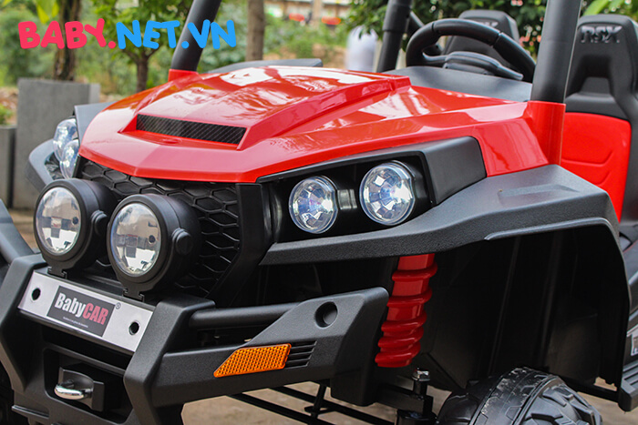 Ô tô điện cho bé S2588 BabyCar thương hiệu Ý 10
