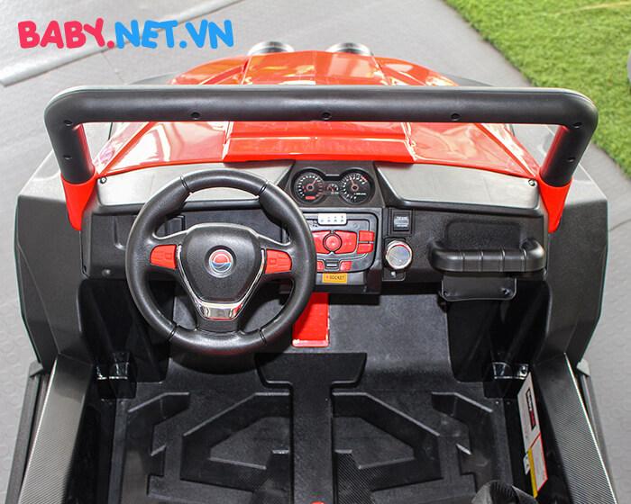 Ô tô điện cho bé S2588 BabyCar thương hiệu Ý 13