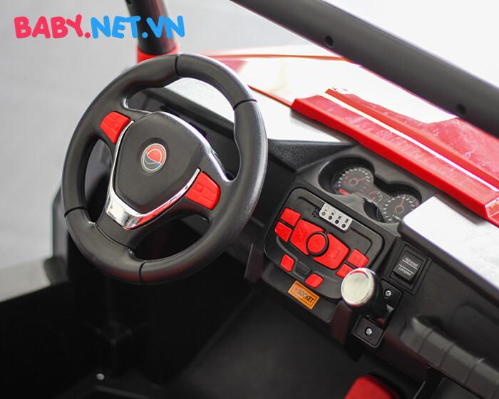 Ô tô điện cho bé S2588 BabyCar thương hiệu Ý 14