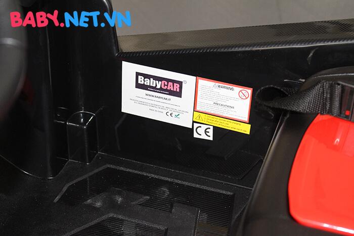 Ô tô điện cho bé S2588 BabyCar thương hiệu Ý 15