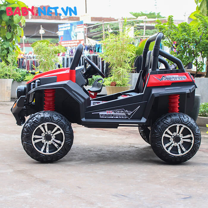 Ô tô điện cho bé S2588 BabyCar thương hiệu Ý 4