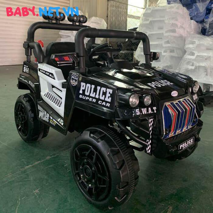 Ô tô trẻ em chạy điện Police 5168 2