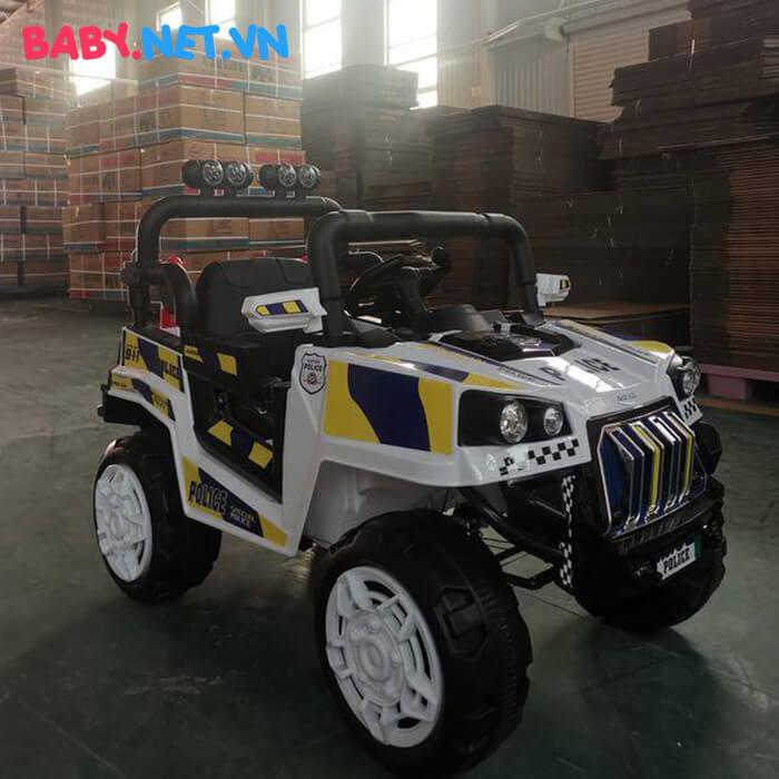 Ô tô trẻ em chạy điện Police 5168 4