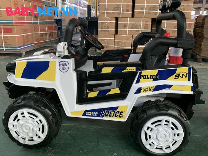 Ô tô trẻ em chạy điện Police 5168 5