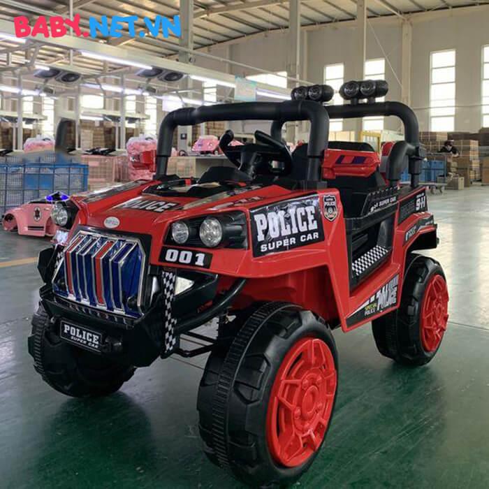 Ô tô trẻ em chạy điện Police 5168 6