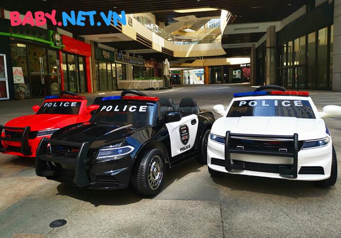 Xe hơi điện cảnh sát trẻ em JC-666 1