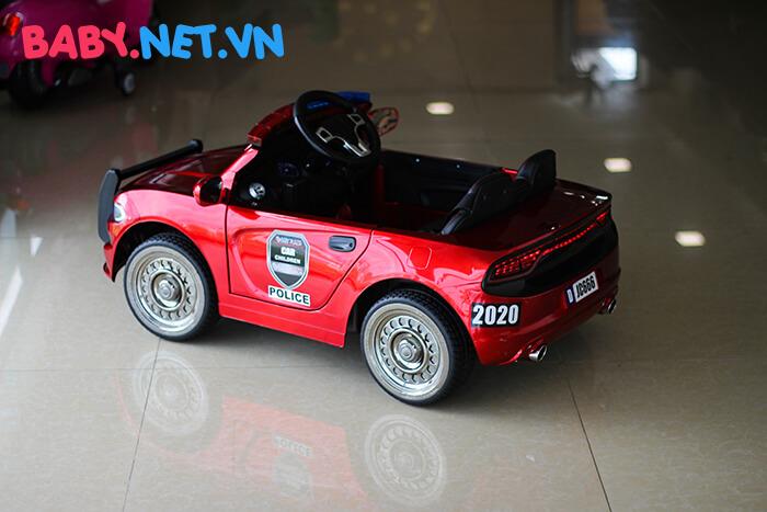 Xe hơi điện cảnh sát trẻ em JC-666 11