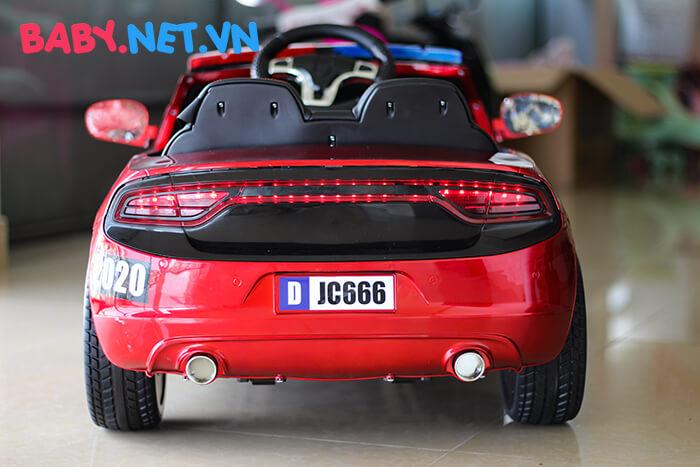 Xe hơi điện cảnh sát trẻ em JC-666 12