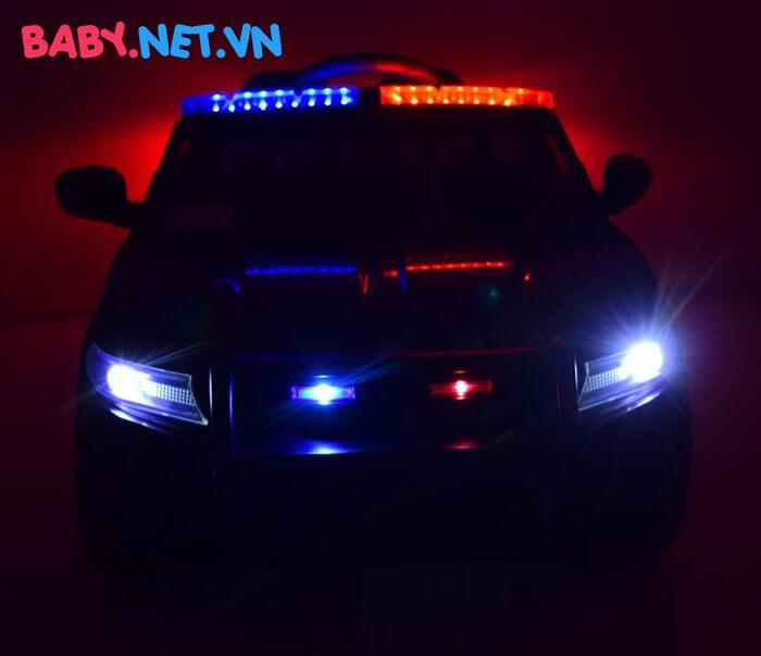 Xe hơi điện cảnh sát trẻ em JC-666 15