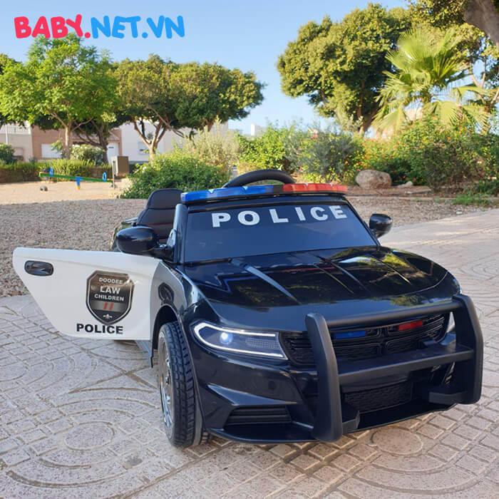Xe hơi điện cảnh sát trẻ em JC-666 3
