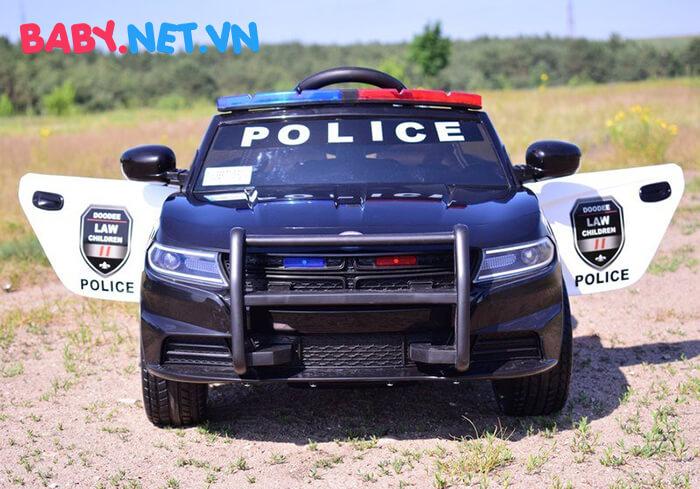 Xe hơi điện cảnh sát trẻ em JC-666 4