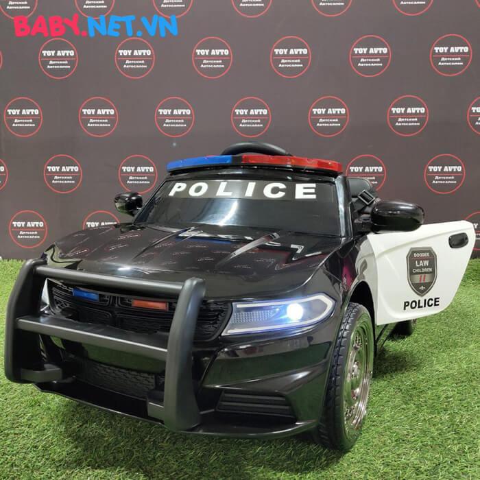 Xe hơi điện cảnh sát trẻ em JC-666 6
