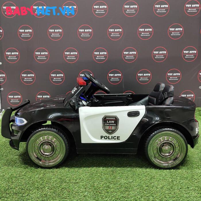 Xe hơi điện cảnh sát trẻ em JC-666 7