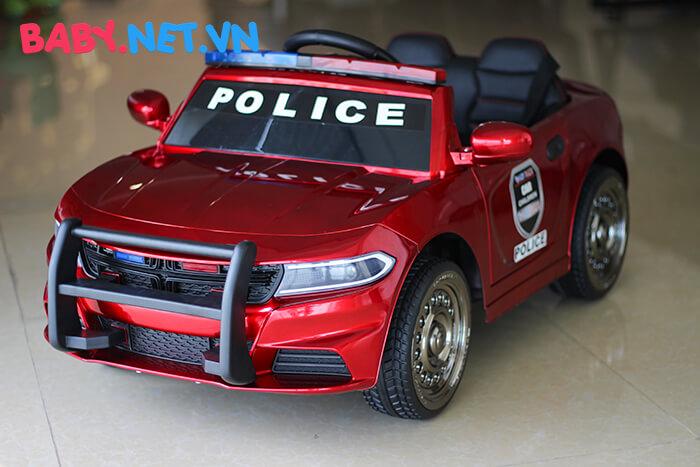 Xe hơi điện cảnh sát trẻ em JC-666 9
