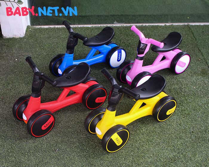 Xe đạp chòi chân 4 bánh cho trẻ LS618 1
