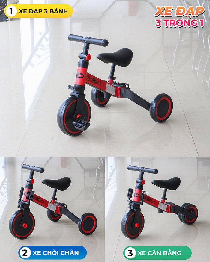 Xe đạp đa năng 3 trong 1 Broller AS-006 1