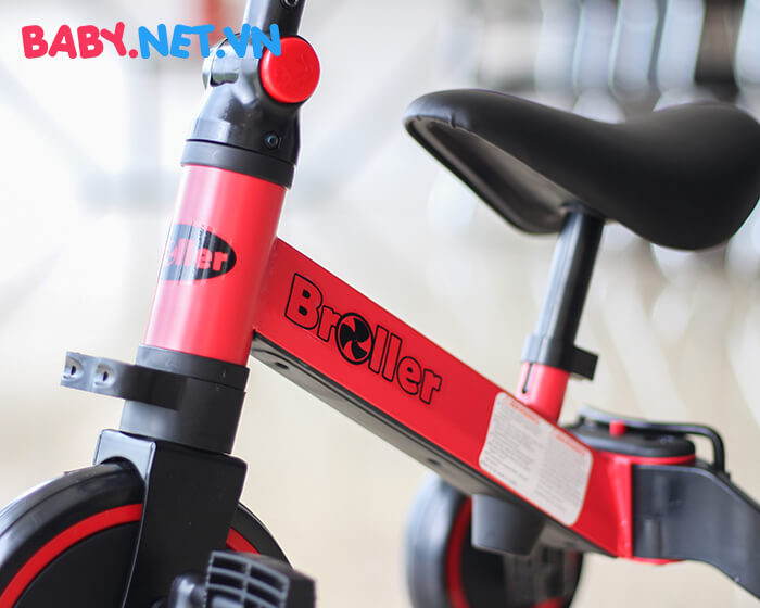 Xe đạp đa năng 3 trong 1 Broller AS-006 16