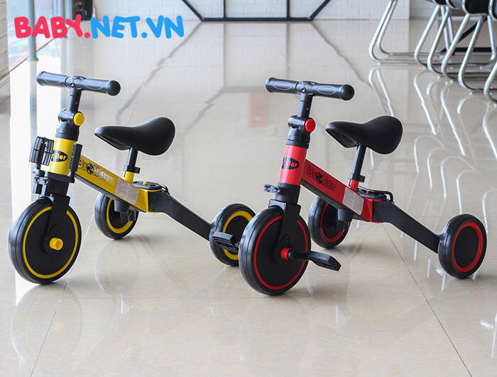Xe đạp đa năng 3 trong 1 Broller AS-006 3