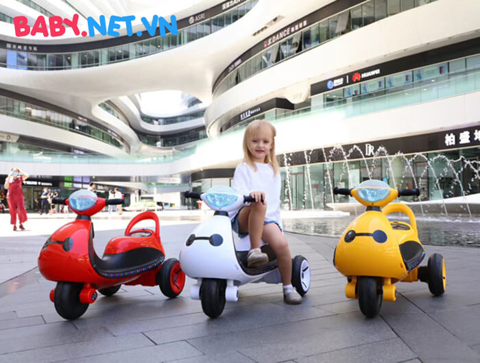 Xe moto điện trẻ em LS-6688 1