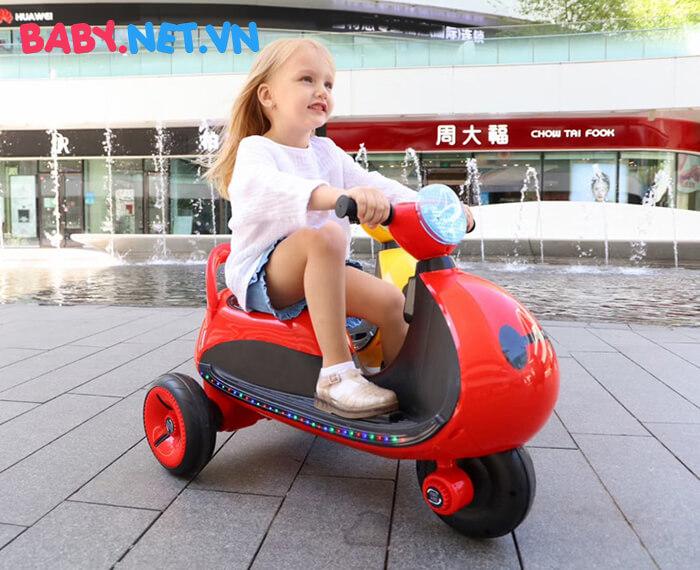 Xe moto điện trẻ em LS-6688 10