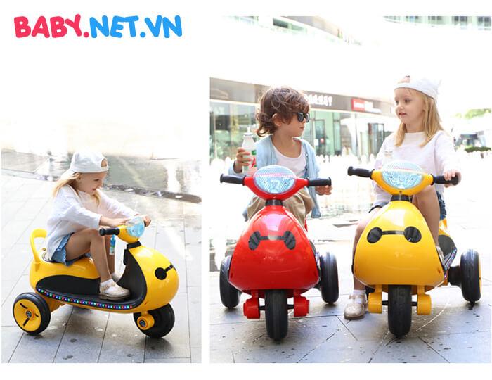 Xe moto điện trẻ em LS-6688 2