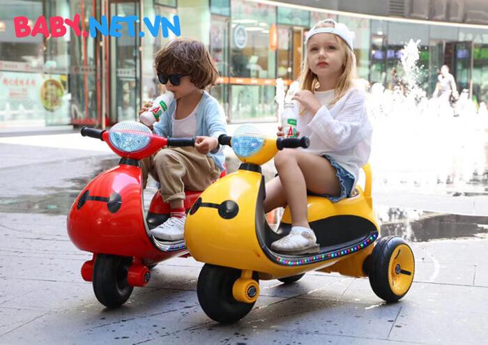 Xe moto điện trẻ em LS-6688 3