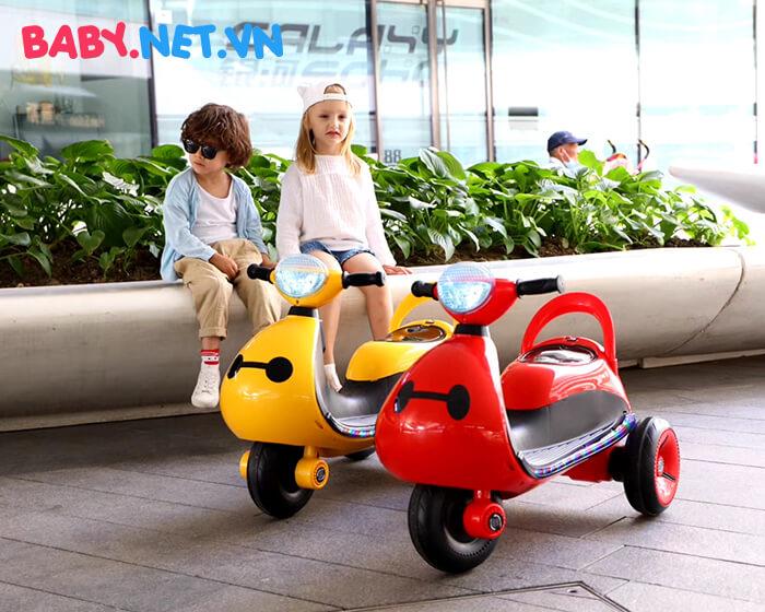 Xe moto điện trẻ em LS-6688 4