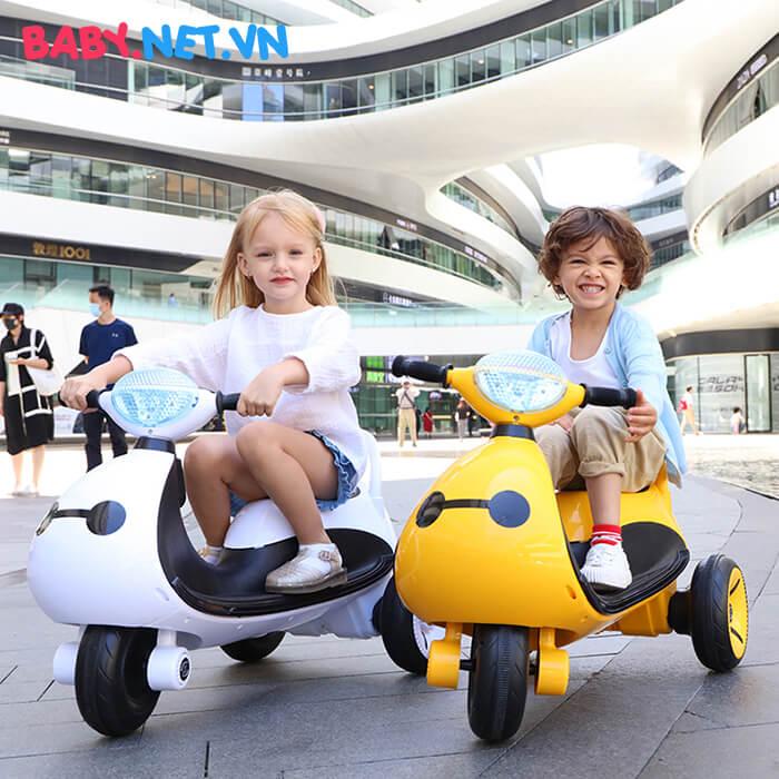 Xe moto điện trẻ em LS-6688 5