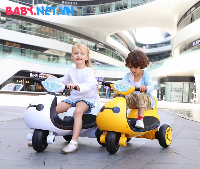 Xe moto điện trẻ em LS-6688 6