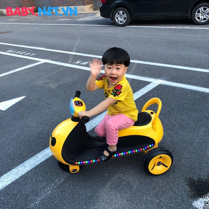 Xe moto điện trẻ em LS-6688 7