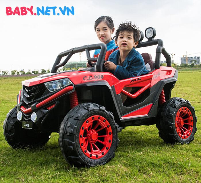 Ô tô điện trẻ em 2 chỗ ngồi CL-908 4