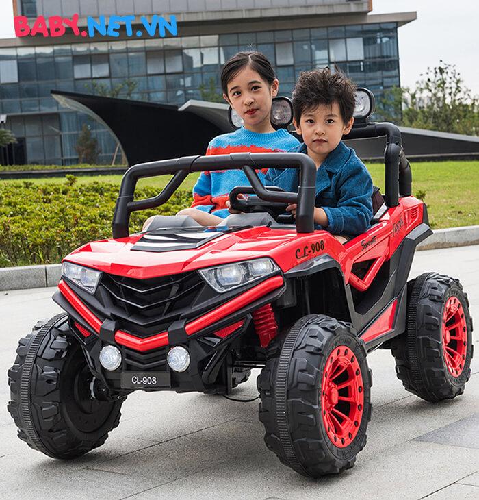 Ô tô điện trẻ em 2 chỗ ngồi CL-908 5