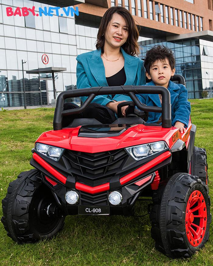 Ô tô điện trẻ em 2 chỗ ngồi CL-908 6