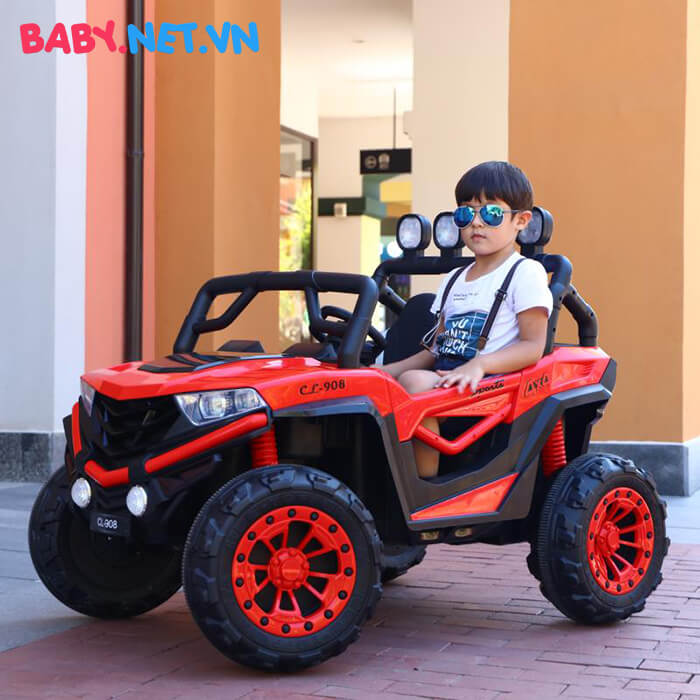 Ô tô điện trẻ em 2 chỗ ngồi CL-908 7