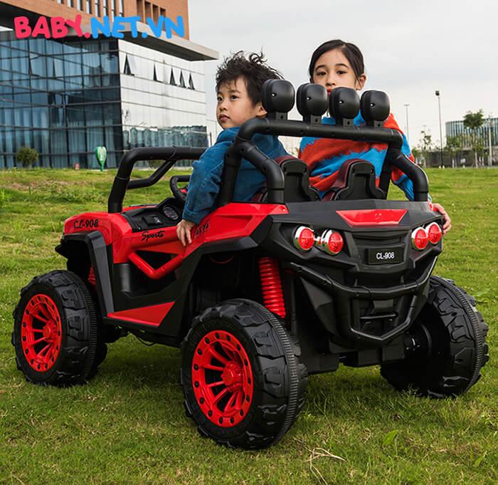 Ô tô điện trẻ em 2 chỗ ngồi CL-908 8