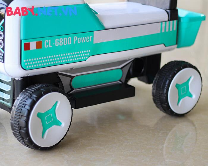 Xe chòi chân máy xúc cho bé CL-6801 10