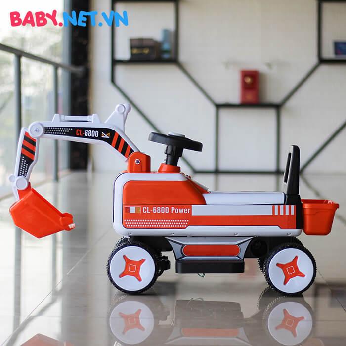 Xe chòi chân máy xúc cho bé CL-6801 2