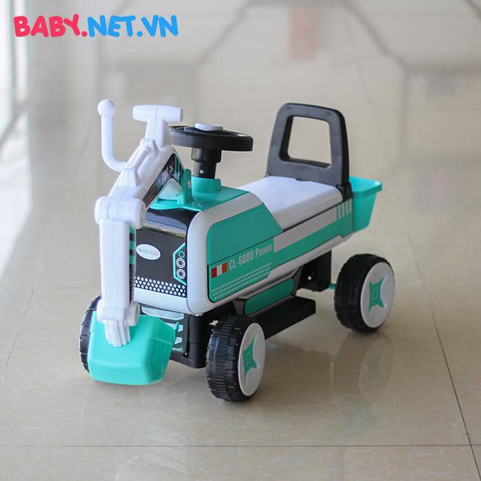 Xe chòi chân máy xúc cho bé CL-6801 3