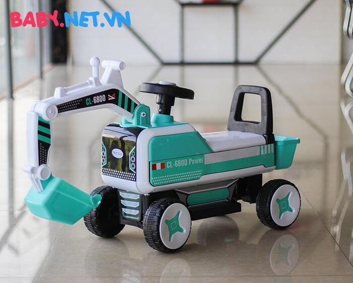 Xe chòi chân máy xúc cho bé CL-6801 4