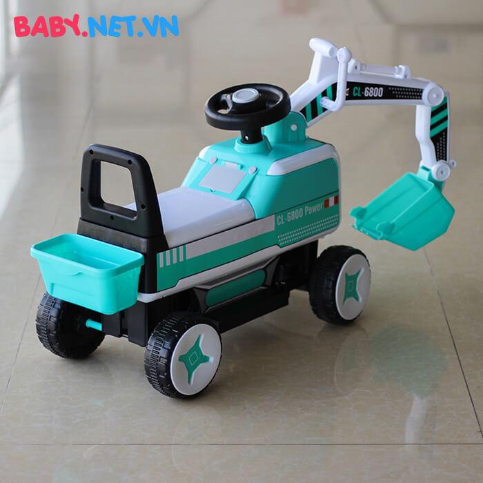 Xe chòi chân máy xúc cho bé CL-6801 5